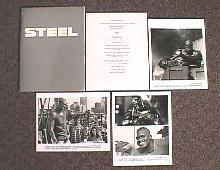 STEEL original issue movie presskit