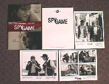 SPY GAME original issue movie presskit