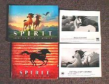 SPIRIT, STALLION OF THE CIMARRON original issue movie presskit