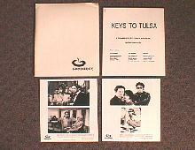 KEYS TO TULSA original issue movie presskit