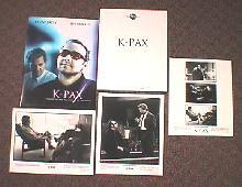 K-PAX original issue movie presskit