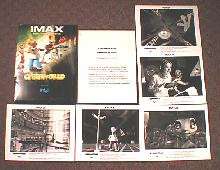 IMAX-CYBERWORLD original issue movie presskit