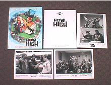 HOW HIGH original issue movie presskit