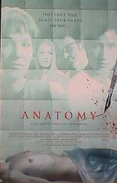 ANATOMY original issue rolled double sided International 1-sheet movie poster