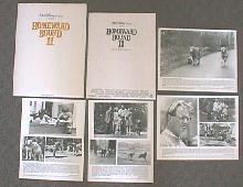 HOMEWARD BOUND II original issue movie presskit