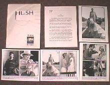 HUSH original issue movie presskit