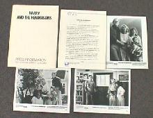 HARRY AND THE HENDERSONS original issue movie presskit