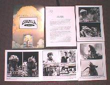 GODZILLA 2000 original issue movie presskit