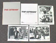GETAWAY, THE original issue movie presskit