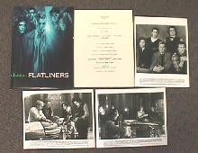 FLATLINERS original issue movie presskit