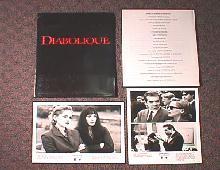 DIABOLIQUE original issue movie presskit