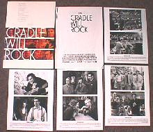 CRADLE WILL ROCK original issue movie presskit
