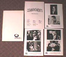 COMMANDMENTS original issue movie presskit