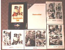 BEETHOVEN'S 2ND original issue movie presskit