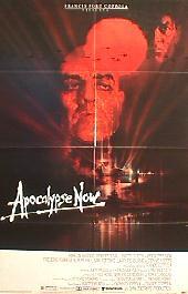 APOCALYPSE NOW original folded 1-sheet movie poster