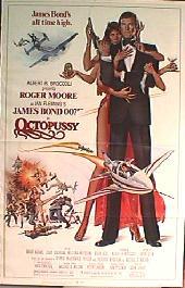 OCTOPUSSY original folded 1-sheet movie poster
