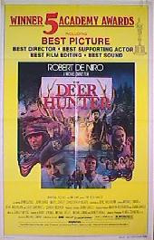 DEER HUNTER, THE original academy folded 1-sheet movie poster