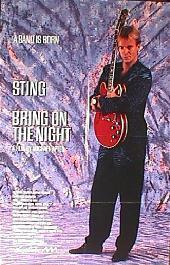 BRING ON THE NIGHT original advance folded 1-sheet movie poster