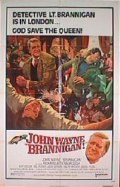 BRANNIGAN original folded 1-sheet movie poster