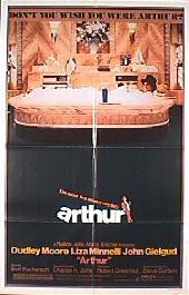 ARTHUR Style B original folded 1-sheet movie poster