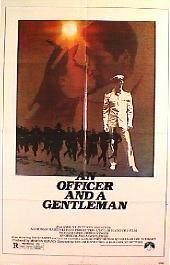 AN OFFICER AND A GENTLEMAN original folded 1-sheet movie poster