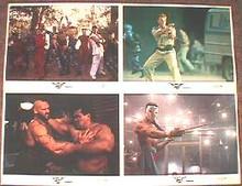 STREET FIGHTER original issue 11x14 lobby card set