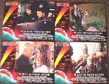 STAR TREK 9 original issue 11X14 lobby card set