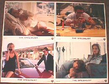 SPECIALIST, THE original issue 11x14 lobby card set