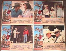 SMOKEY & THE BANDIT II original issue 11x14 lobby card set