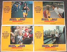 RUNNING original issue 11x14 lobby card set