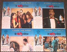 NUTTY PROFESSOR original issue 11x14 British lobby card set