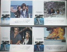 ISLAND,THE original issue 11x14 lobby card set