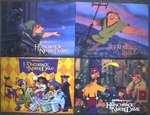 HUNCHBACK OF NOTRE DAME original issue 11x14 lobby card set