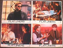 FLATLINERS original issue 11x14 lobby card set