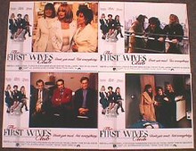 FIRST WIVES CLUB original issue 11x14 lobby card set
