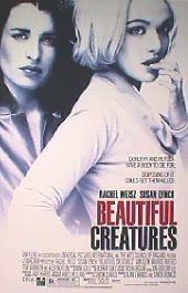 BEAUTIFUL CREATURES 2001 original issue rolled double sided 1-sheet movie poster