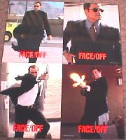 FACE/OFF original issue 11x14 lobby card set