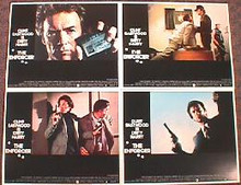 ENFORCER,THE original issue 11x14 lobby card set