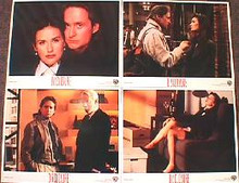 DISCLOSURE original issue 11x14 lobby card set