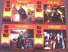DAYLIGHT original issue 11x14 lobby card set