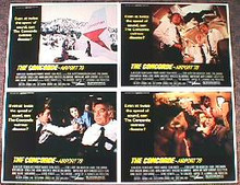 CONCORD-AIRPORT original issue 11x14 lobby card set