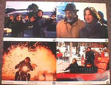 CHAIN REACTION original issue 11x14 lobby card set