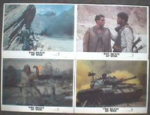 BEAST OF WAR, THE original issue 11x14 lobby card set