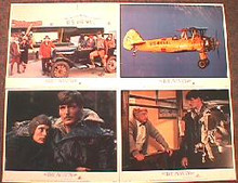 AVIATOR,THE original issue 11x14 lobby card set