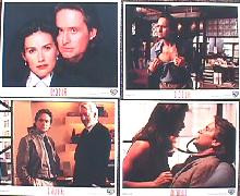 DISCLOSURE original issue  8x10 lobby card set