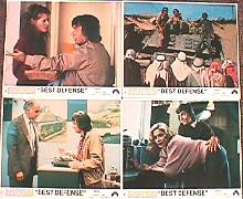 BEST DEFENSE original issue 8x10 lobby card set