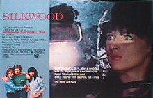 SILKWOOD original issue 22x28 rolled movie poster