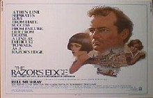 RAZOR'S EDGE,THE original issue 22x28 rolled movie poster