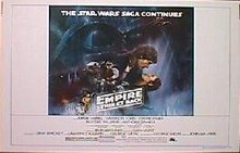EMPIRE STRIKES BACK-Style A original issue 22x28 rolled movie poster