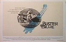 BUSTER & BILLIE original issue 22x28 rolled movie poster